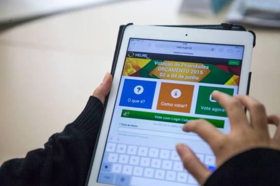 Rio Grande do Sul Participatory Budgeting Voting System (2014)