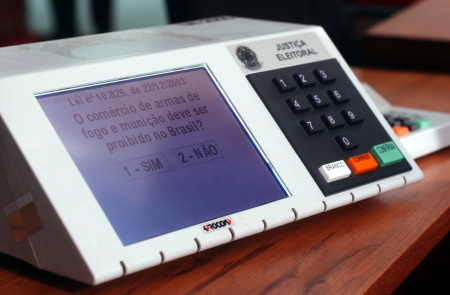 Brazilian electronic voting machine